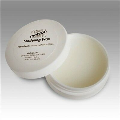 MEHRON CLEAR MODELING WAX COVERING EYEBROW BLOCKER SPECIAL EFFECTS STAGE MAKEUP