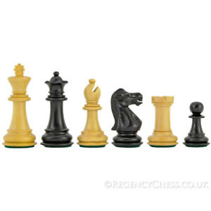 Old English Staunton Chessmen 3 Pouces