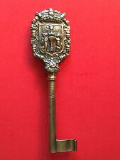 Zeremonialschlüssel Portugal, KAMMERHERRENSCHLÜSSEL, Wappen Coimbra, 19. Jhdt.