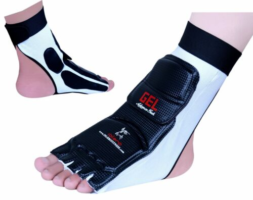ISLERO Taekwondo Foot Protector Guard Karate Gloves MMA Pads Socks Sparring Gear