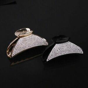 Rhinestone Claw Large Women Hot Hairpin Headwear Hair Luxury Crystal Clip