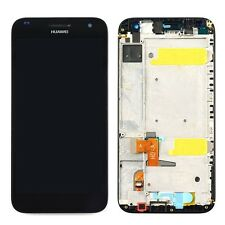 New Huawei Ascend G7 G7-L01 Touch Digitizer LCD Screen Assembly With Frame Black