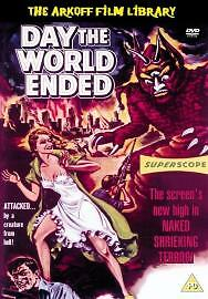 DAY THE WORLD ENDED GENUINE R2 DVD RICHARD DENNING LORI NELSON