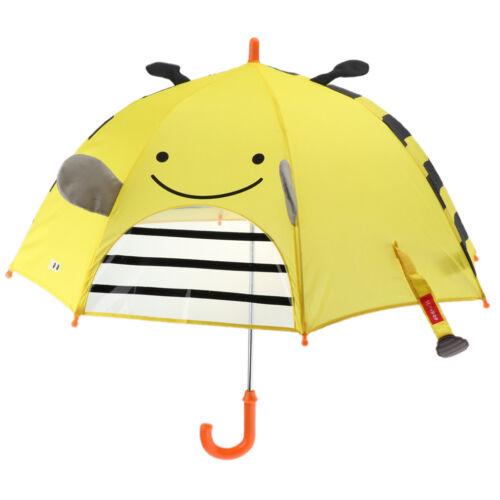Cartoon Ear Rain Gear Automatic Handle Umbrella Easy Opening Folding