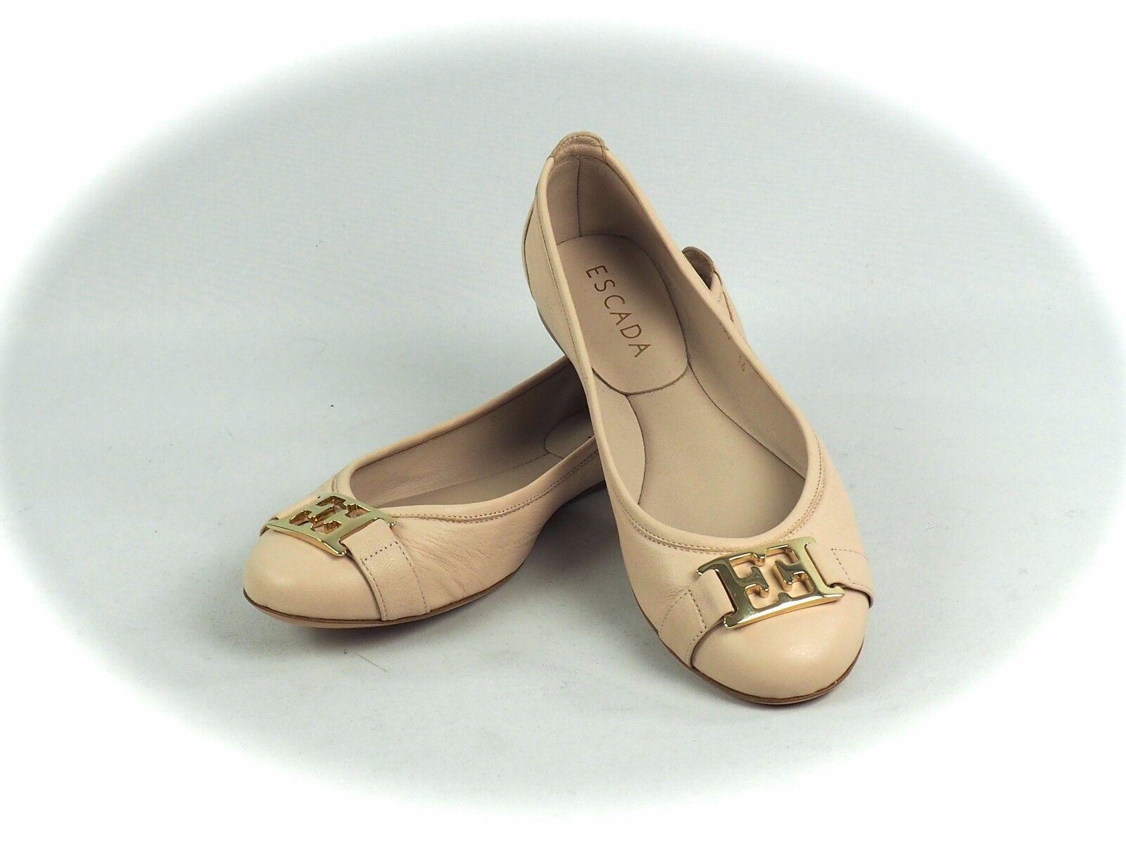~ Escada ~ Ballerine/Scarpe in pelle nude tg. 36/38/40/41 NUOVO