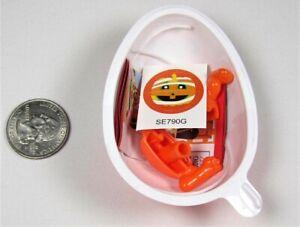 Kinder Joy Mix & Match 2021 Halloween Orange Pumpkin Mummy Collectible Mini Toy