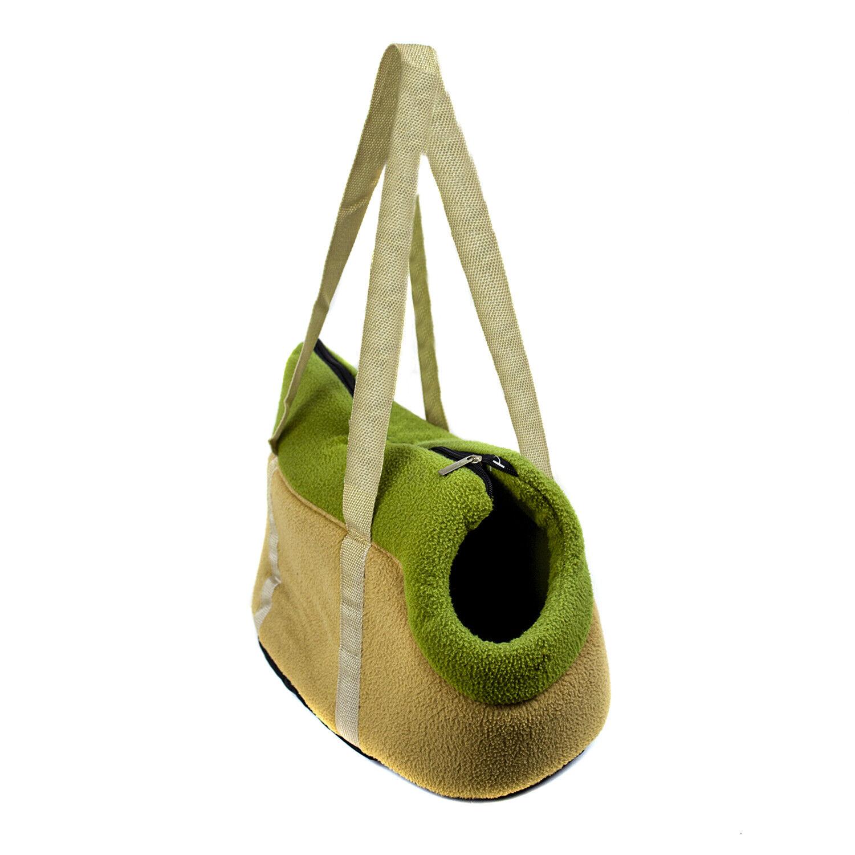 bolsa para perro gato Transportin mascotas de viaje Bolso plegable 45x20x25cm