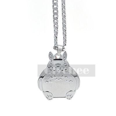 Anime My Neighbor Totoro Pendant Necklace Cute Cosplay Silver Tone Xmas Gift