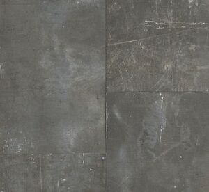 Image Is Loading Rustic Dark Grey Charcoal Industrial Style Metal Look
