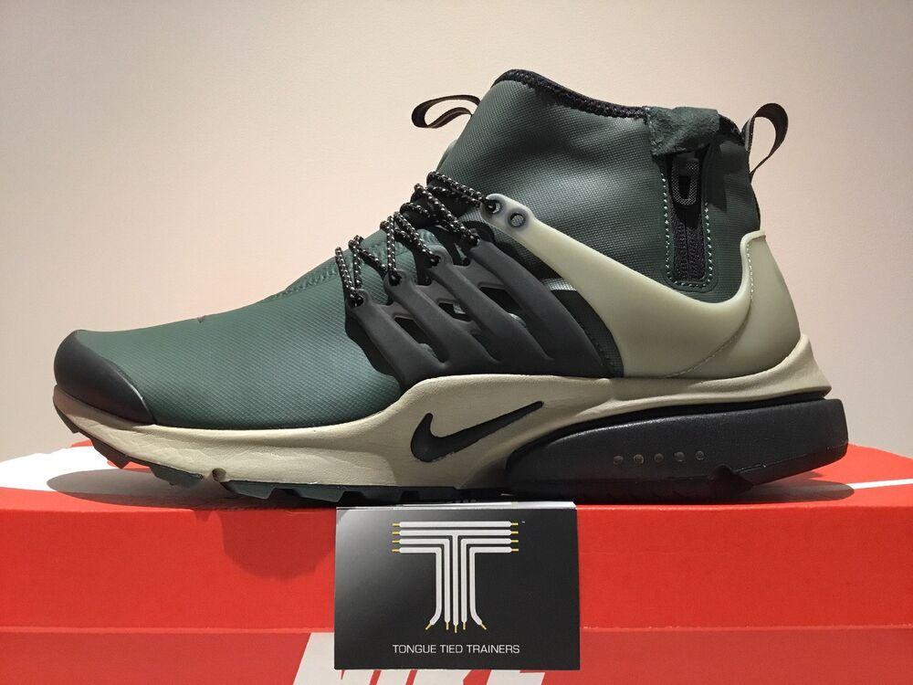 Nike Air Presto Mid utilitaire ~ 859524 300 ~ Taille UK 12-