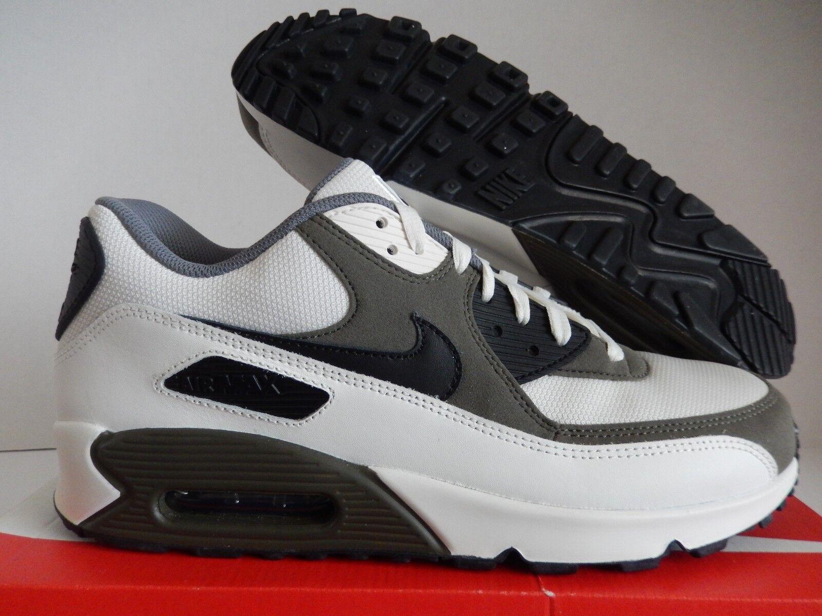 Nike air max 90 id white-sail-olive green-nero sz 12 maglie il [931902-993]