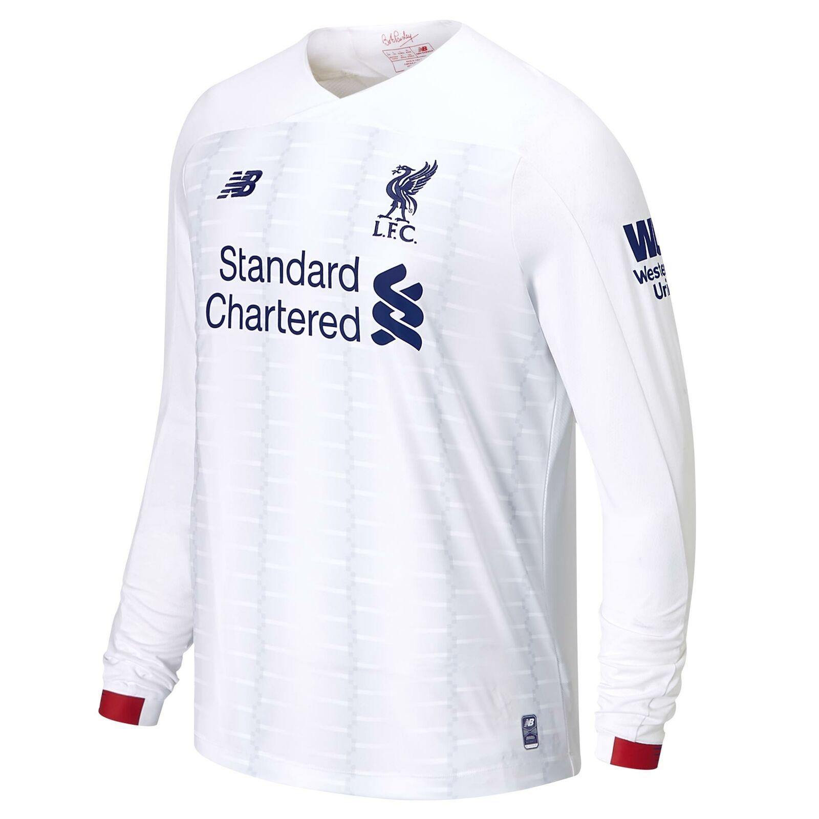 New Equilibrar oficial Liverpool FC Lejos  Camiseta De Fútbol Para Hombre Manga Larga 2019-20  bienvenido a comprar