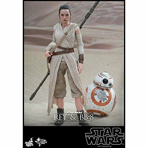 Hot Toys Movie Masterpiece Star Wars The The The Force Awakens REY & BB-8 1/6 Figure 51a4c7