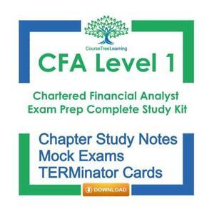 CFA Level 1 2020 Exam Prep Kaplan Schweser Summary Study Textbooks, Practice Exams Canada Preview
