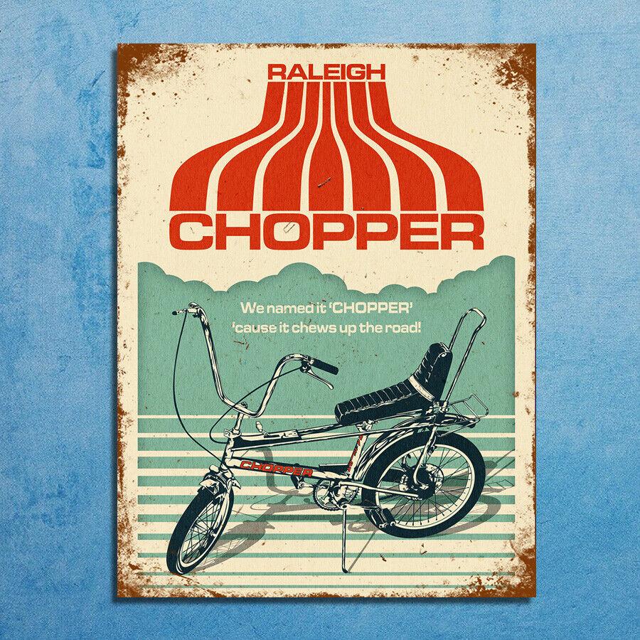 Chopper Retro Repro Metal Signs