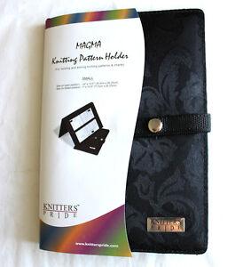 Knitters Pride MAGMA Knitting Pattern Holder Fold-Up ...