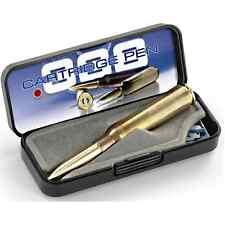 Fisher Space Pen - .338 Lapua Magnum Bullet Cartridge - Brass Casing - Gift Box
