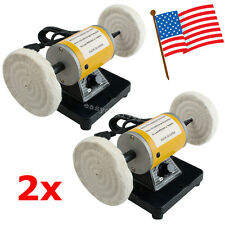 2x Mini Dental Polisher Polishing Machine Lathe sander grinder Buffing 3000rpm