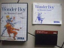 Wonder boy in Monster Land Sega Master System