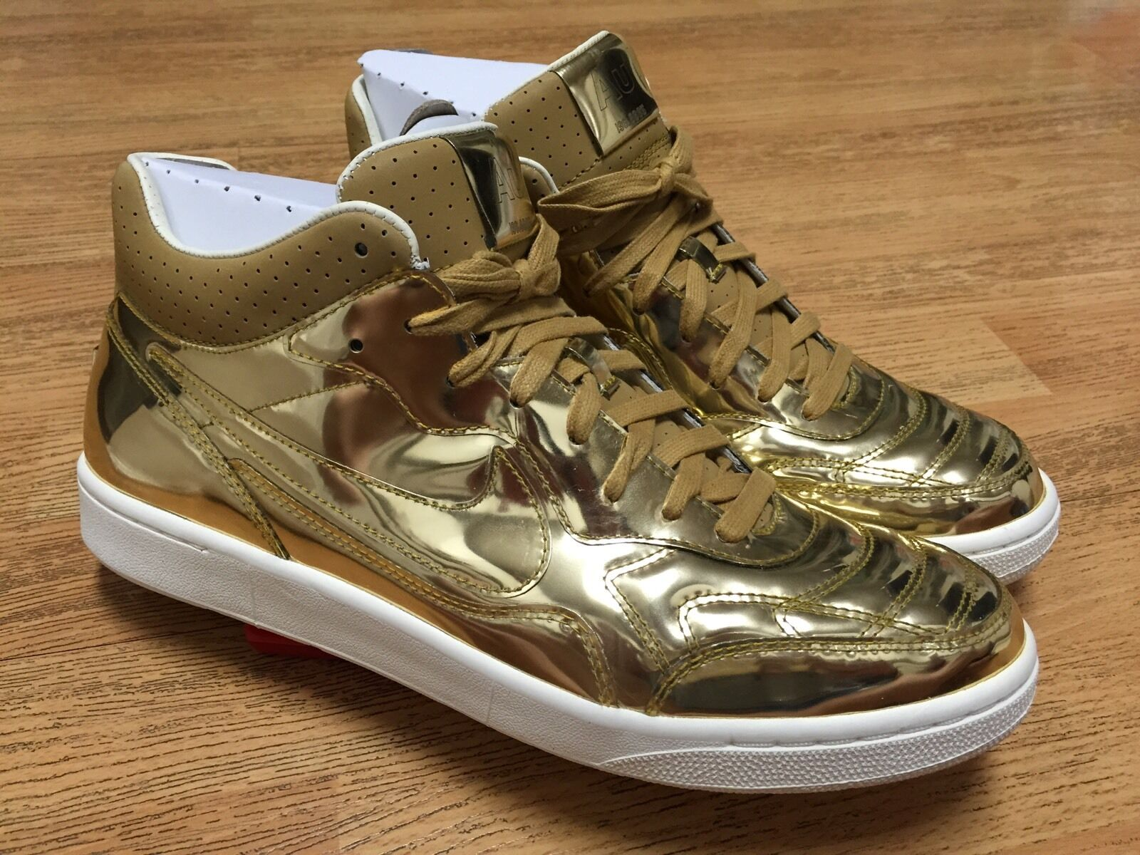 NIKE NSW TIEMPO '94 MID SP LIQUID GOLD SOCCER FOOTBALL SHOES 10.5 WORLD CUP NEW