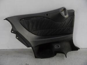 Mercedes-CLK-W209-Cabrio-Mopf-Leder-Seitenverkleidung-Verkleidung-HL-anthrazit