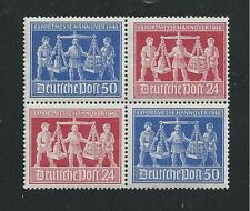GERMANY ALLIED ZONE # 584-5 (585c) MNH HANNOVER EXPORT FAIR (Setenant Block)