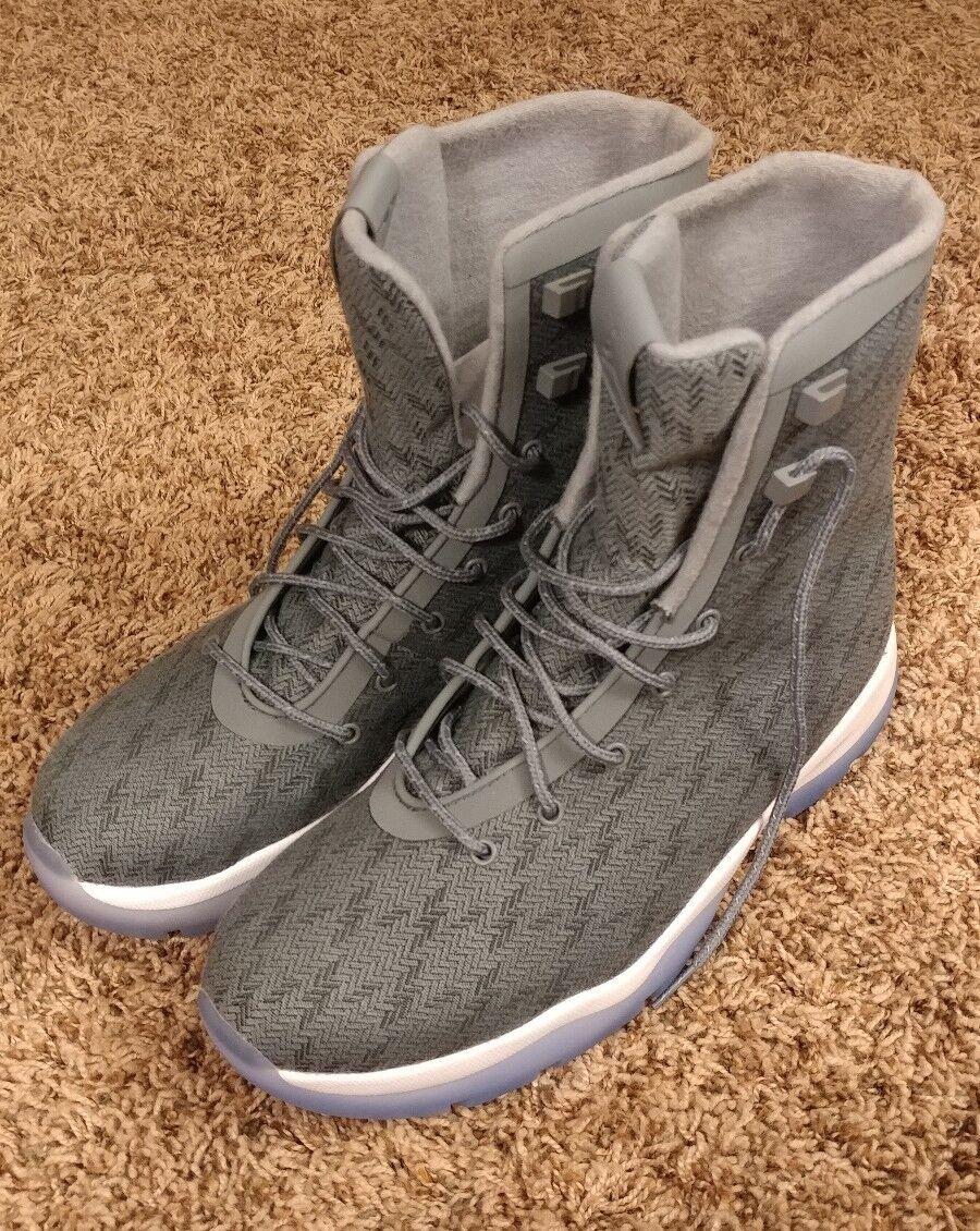 Authentic Air Jordan Future Boots Cool Grey /Blue White 854554 003 Men Sz 9.5 The latest discount shoes for men and women
