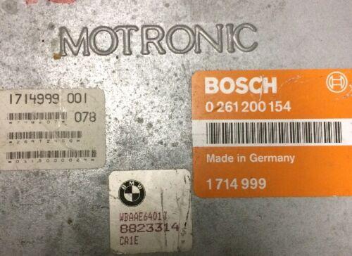 1985-1987  BMW OEM ENGINE CONTROL MODULE UNIT ECM ECU PCM 0261200154