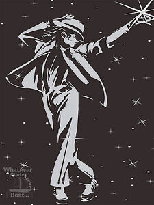 Michael Jackson KING OF POP Wall Art Poster Print Cool Gift All Sizes Frame
