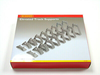 R909 Hornby 00 Gauge Model Railway Elevated Track Gradient Support Set New Boxed