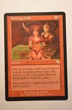 Mtg Magic the Gathering Judgment Burning Wish
