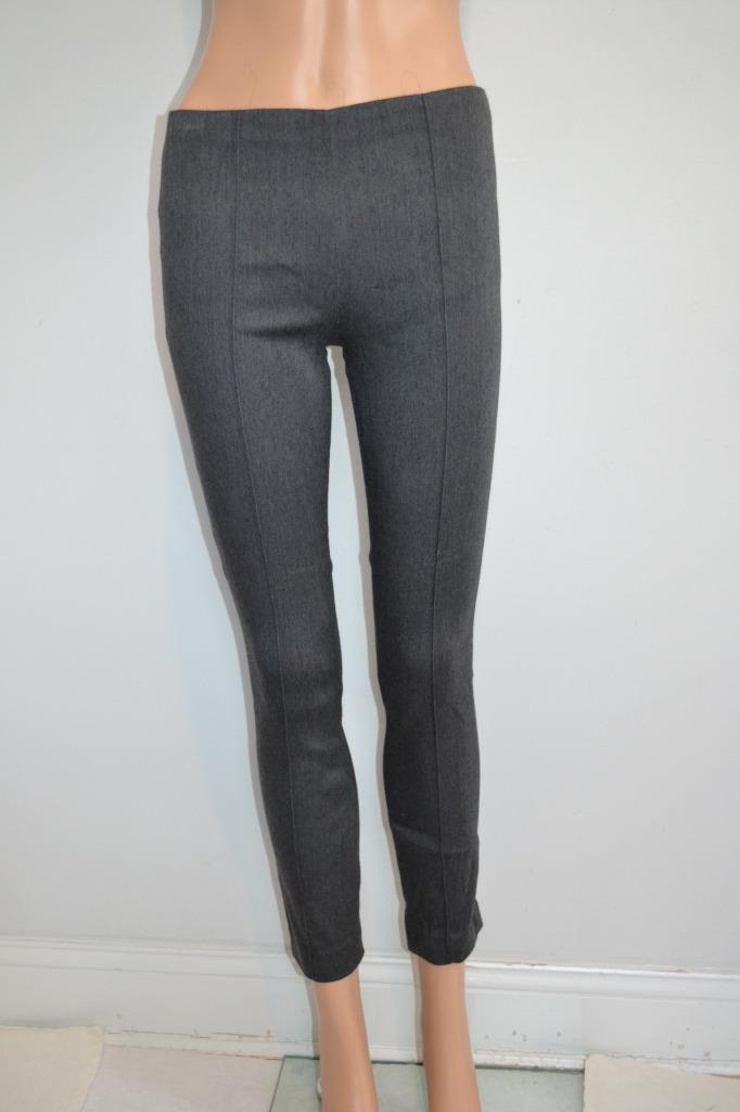 NWT The Row 'Med Grey' 'Credre' Pull-On Pants Size 0, Ret.  850