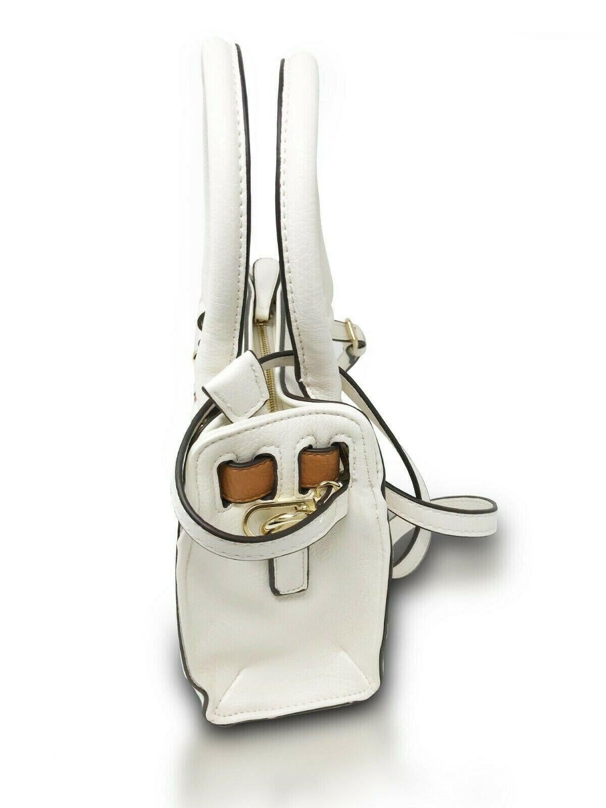 Mini Lady Hand-Bag Lockbox Satchel Cross-Body Bag Shoulder Bag with Strap