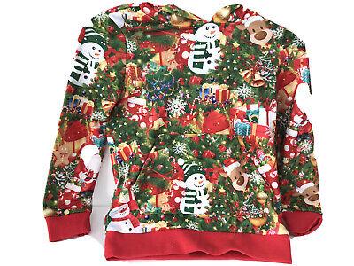 Meeyou Kids Christmas Hoodies Sweatshirt,Ugly Christmas Dress Up for Boys//Girls