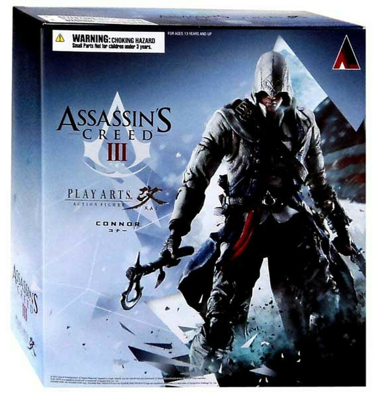 Assassin's Creed III Liberation Play Arts Kai Connor  azione cifra