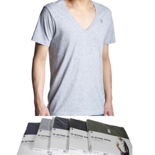 2 Set Shirts Double Pack NWT G-Star Raw Men Base V-neck Short Sleeve T