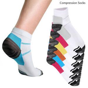 36ed7722b6 Image is loading 12pcs-Plantar-Fasciitis-Compression-Socks-Heel-Foot-Arch-
