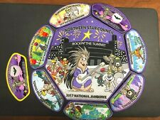 Northern Star Council 8 patches total 2017 BSA National Jamboree Patch Set