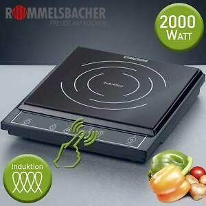 Rommelsbacher-Kochplatte-Kochfeld-Herdplatte-Einzel-Kochtafel-Induktion-2000-W