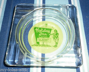 Vintage-Square-Clear-Glass-Holiday-Inn-Ashtray