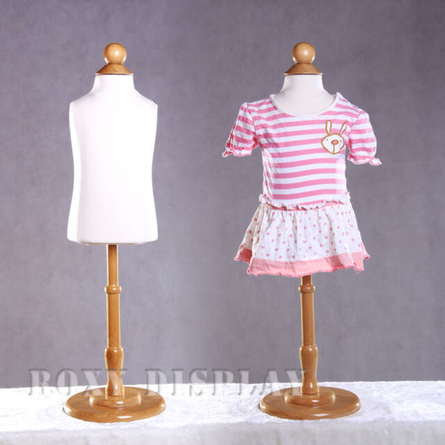 JF-C12T+BS-04 Children Kids Dress Form Mannequin Body Form with base Child