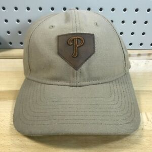 Philadelphia-Phillies-MLB-Baseball-New-Era-9TWENTY-Leather-Strap-Back-Hat-Cap