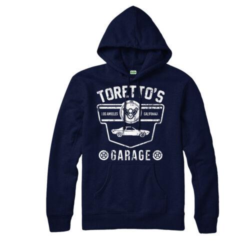 Torettos Garage Hoodie Fast And Furious Muscle Car Unisex Adult /& Kid Hoodie Top
