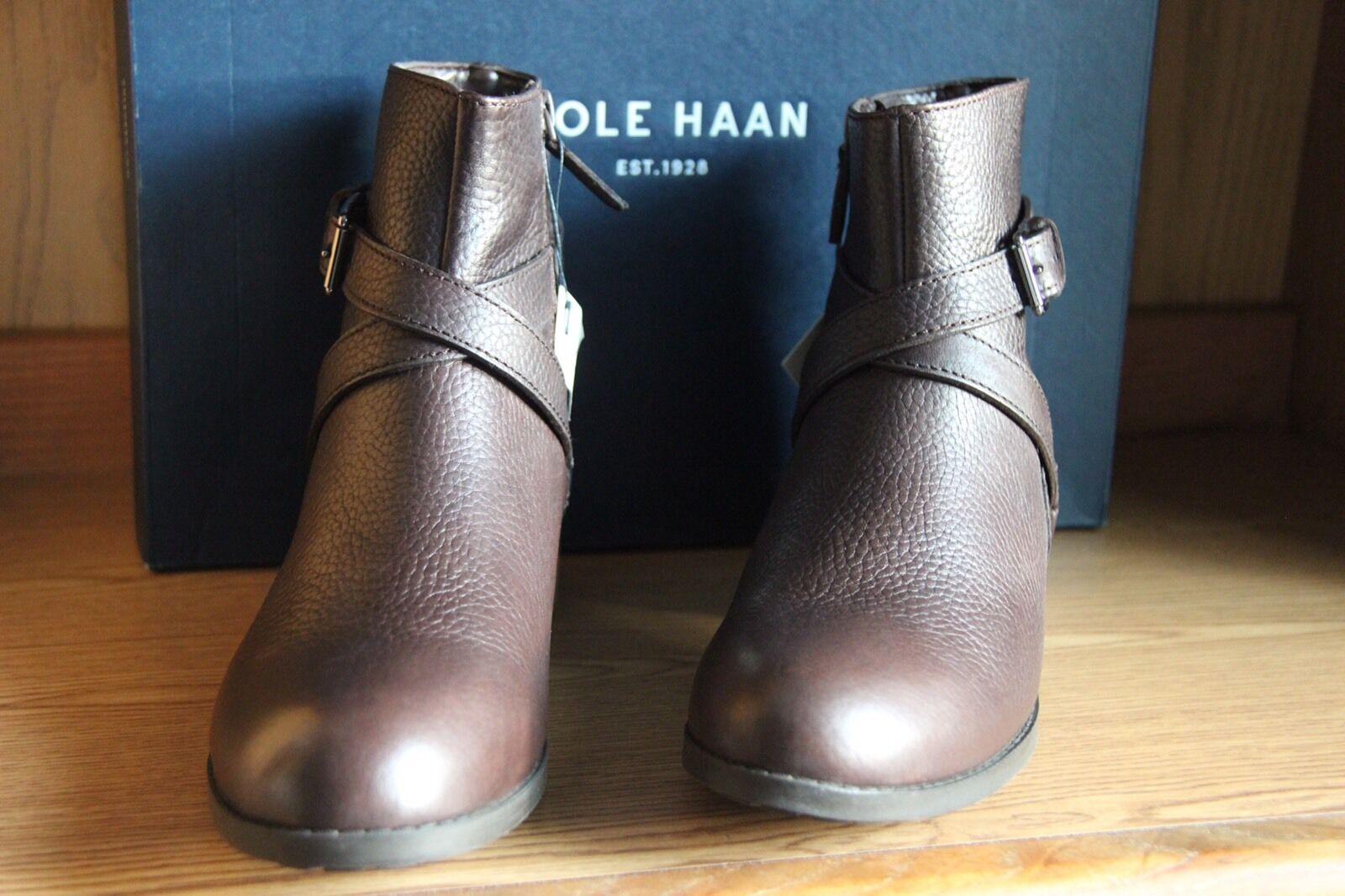 vendita calda Cole Haan Manda avvioie II Java Marrone Leather Leather Leather avvio donna Dimensione 10  W04993  negozio outlet