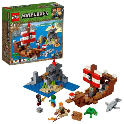LEGO Minecraft 21152 Das Piratenschiff Abenteuer NEUHEIT 2019 OVP,