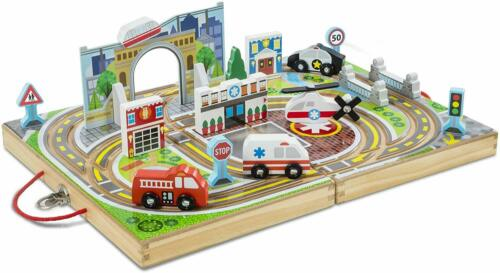 Kids City Road Play Mat Childrens Car Road Carpet Rug Playmat Learning Toys Gift