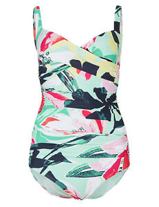 ex Marks /& Spencer firm tummy control swimsuit size 10
