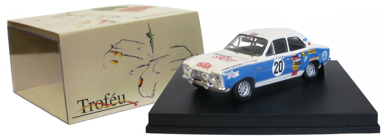 Trofeu 518 ford escort mk i rs 1600 monte carlo 1973-h mikkola échelle 1 43
