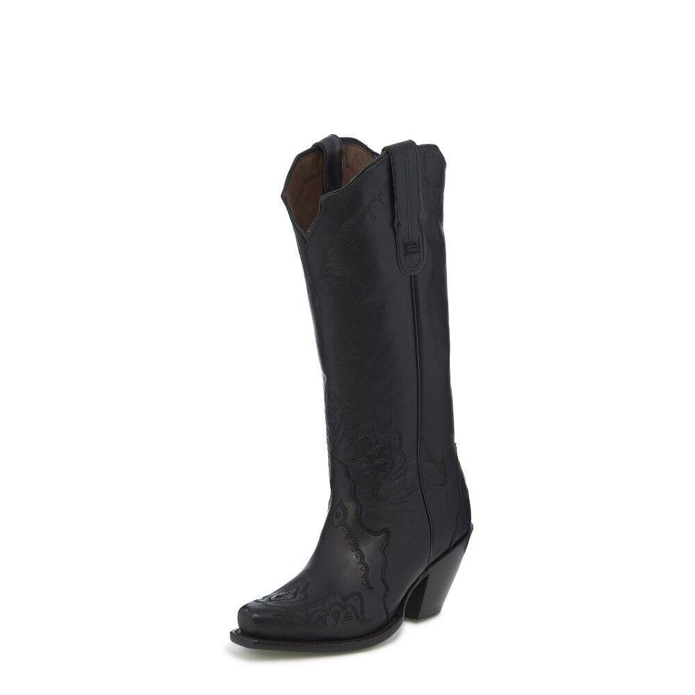 Tony Lama Women's Black Label DESERET Western Cowboy Boots 6070L