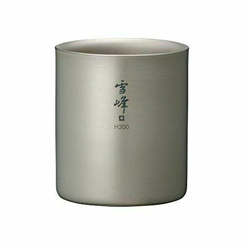 Snow Peak H200 Tw-124 Titanium Xuefeng Stacking Mug 200ml for sale online
